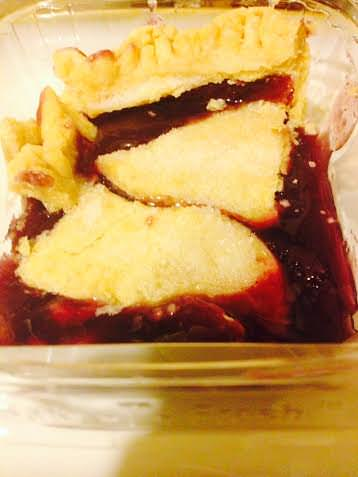 Amish Grape Pie