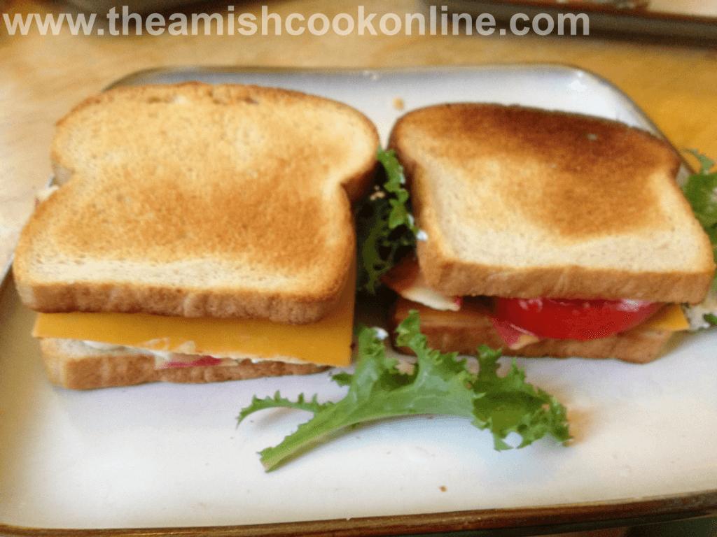salt rising bread makes great sandwich bread