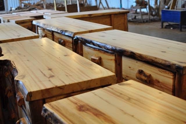 More furniture in Daniel's shop