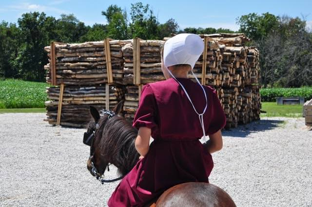 Picture of the Week: Keturah and her Pony