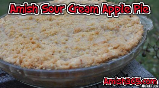 5 Amish Recipes Using Sour Cream: Spice Cake, Apple Pie, Raisin Bars, and More!