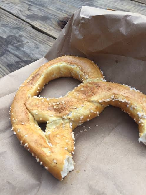 Pretzel Festival Scenes and Amish Pretzel Pudding