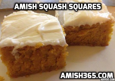 5 Favorite Bake at 350 Recipes:  Autumn Squash Squares, Amish Turkey Casserole, Spaghetti Pie, and More!