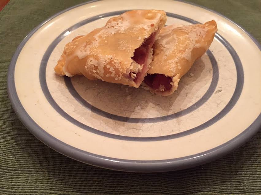 Cherry fried pies, you can use any flavor filling you want with this recipe