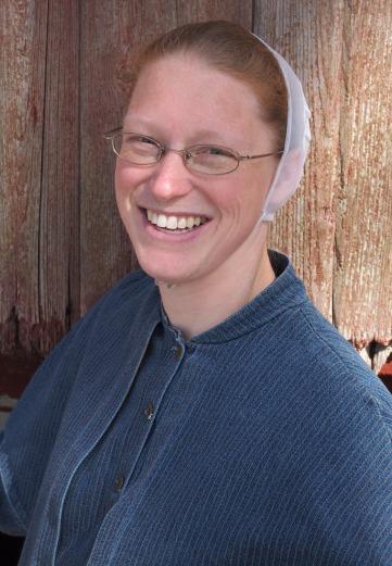 Rosanna Bauman is German Baptist Brethren, a Plain church that shares some similarities with the Amish.