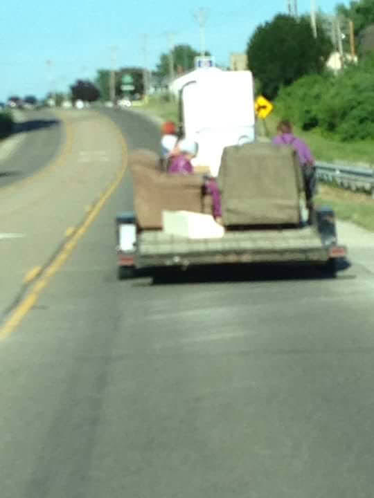 Photo of the Day:  Traveling Sofa
