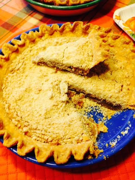 Vanilla Crumb Pie, one of my favorite Amish pies!