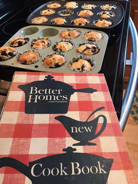 Blueberry Biscuit Muffins and a Classic Cookbook