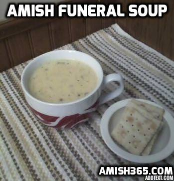 Amish Funeral Soup