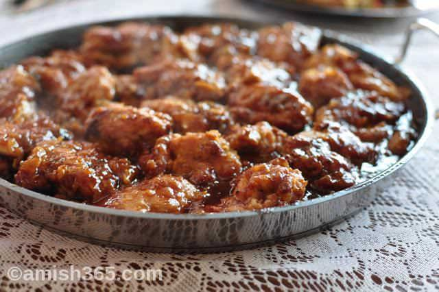 Amish Honey Sesame Chicken And Four New Amish Chicken Recipes