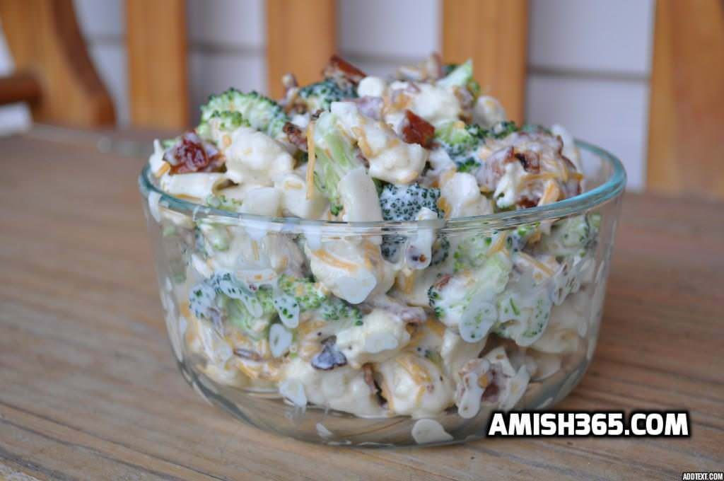 Amish Broccoli Salad – See it in 90 seconds