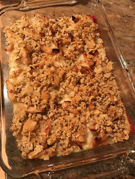 Amish Rice Bake - Maple and Chicken Rice