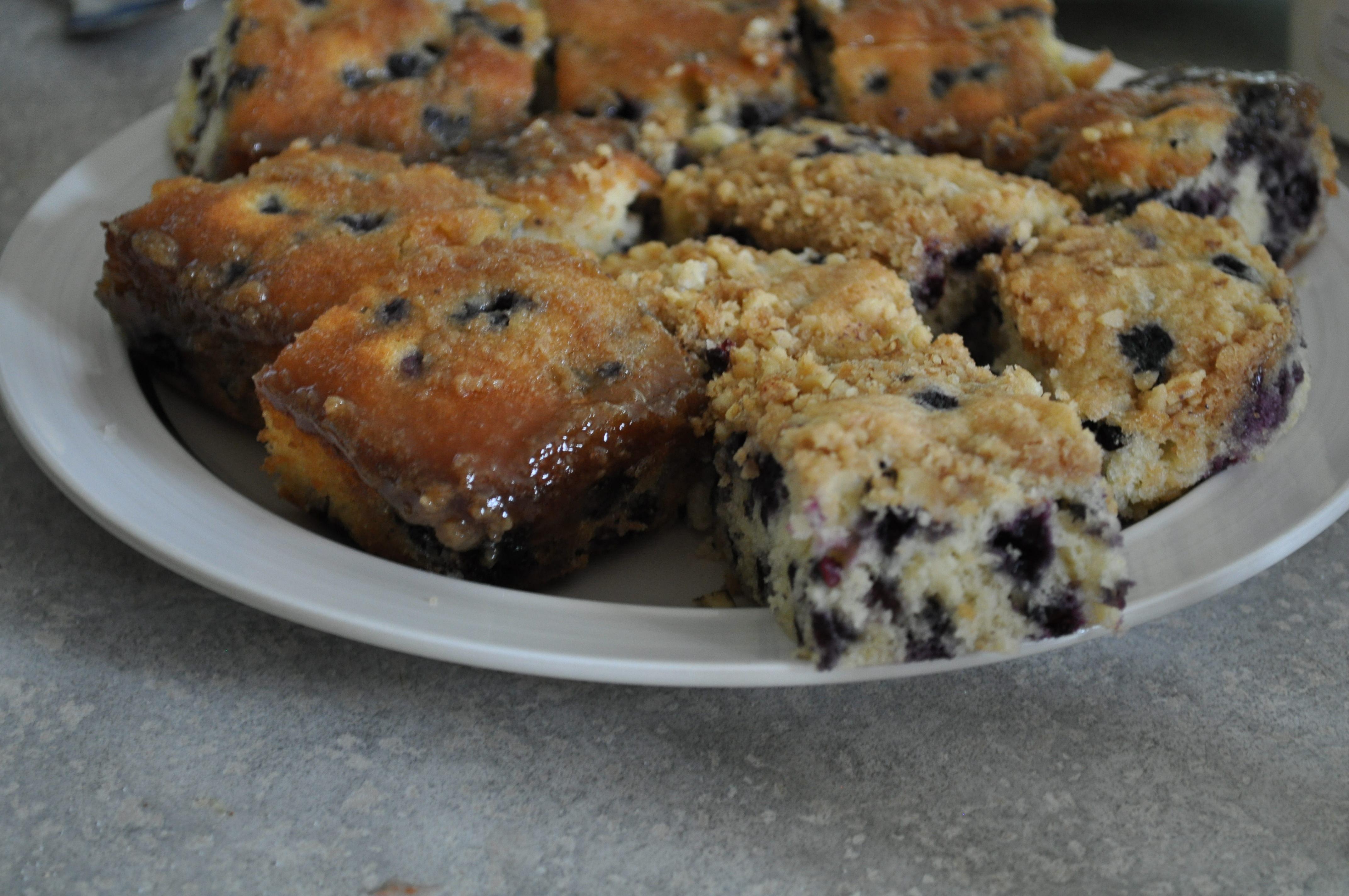 Amish Blueberry Cake