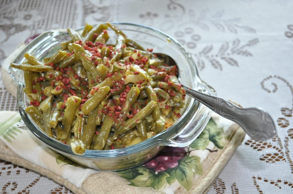 Gloria's Delicious Green Beans and Amish Green Bean Casserole