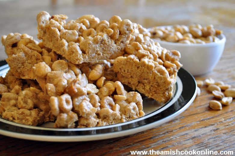 5 Amish Cook Christmas Recipes: Church Windows, Peanutty Squares, and More