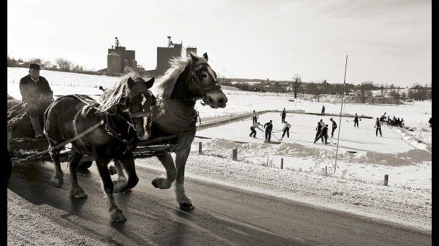 The Amish Cook:  Skating on a Frozen Pond…..