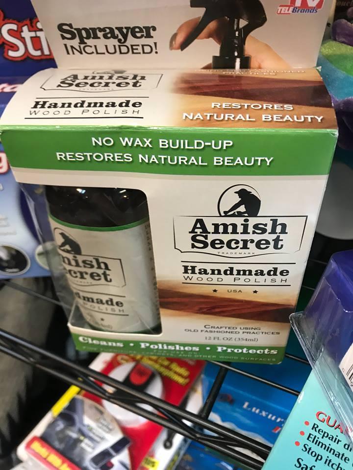 Amish Secret Wood Polish Anyone Try It Amish 365 Amish Recipes Amish Cooking