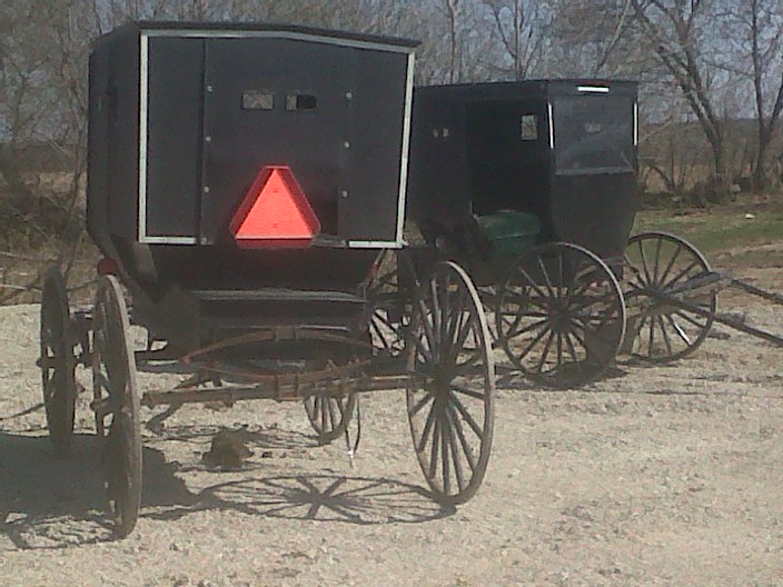 Amish in the News:  Serial Buggy Rammer,  Amish Key Lime Pie,  Sara Miller's Amish Corner, and More!