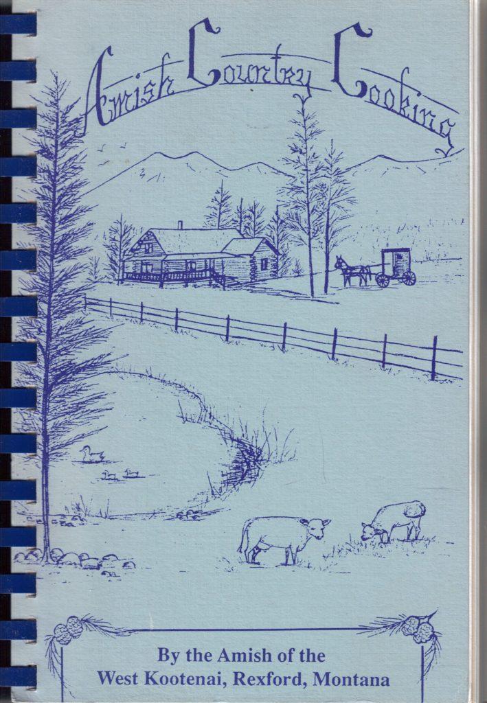 Amish Amazon: Montana Amish Cookbook,  Plum Jam, Sea Salt Caramels, and More!