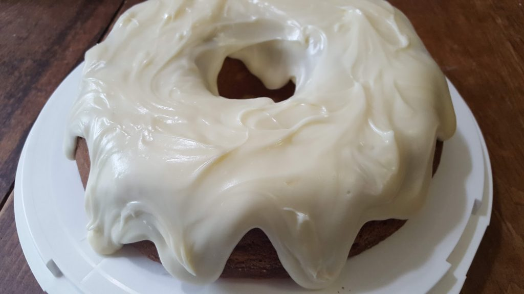 Weekly Blogroll:   Banana Bundt Cake,  Easy Custard Pie,  RVs, and  Amish Pineapple Cream Cheese Squares