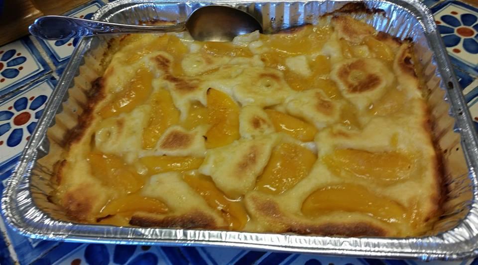 Carmon's Easy Southern Peach Cobbler