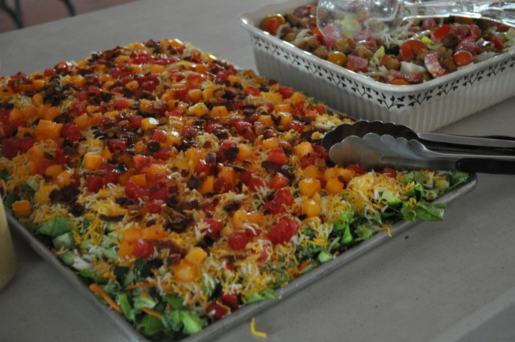 6-23-2018 Trending Recipes:  Amish Potluck Vegetable Pizza, Rhubarb Custard Pie, and More!