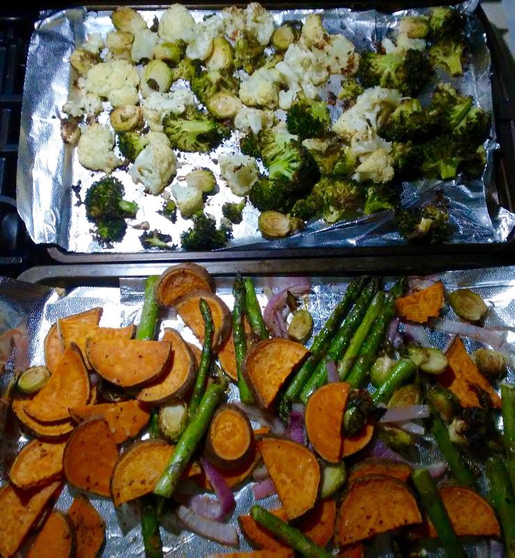 Summer Roasted Vegetables