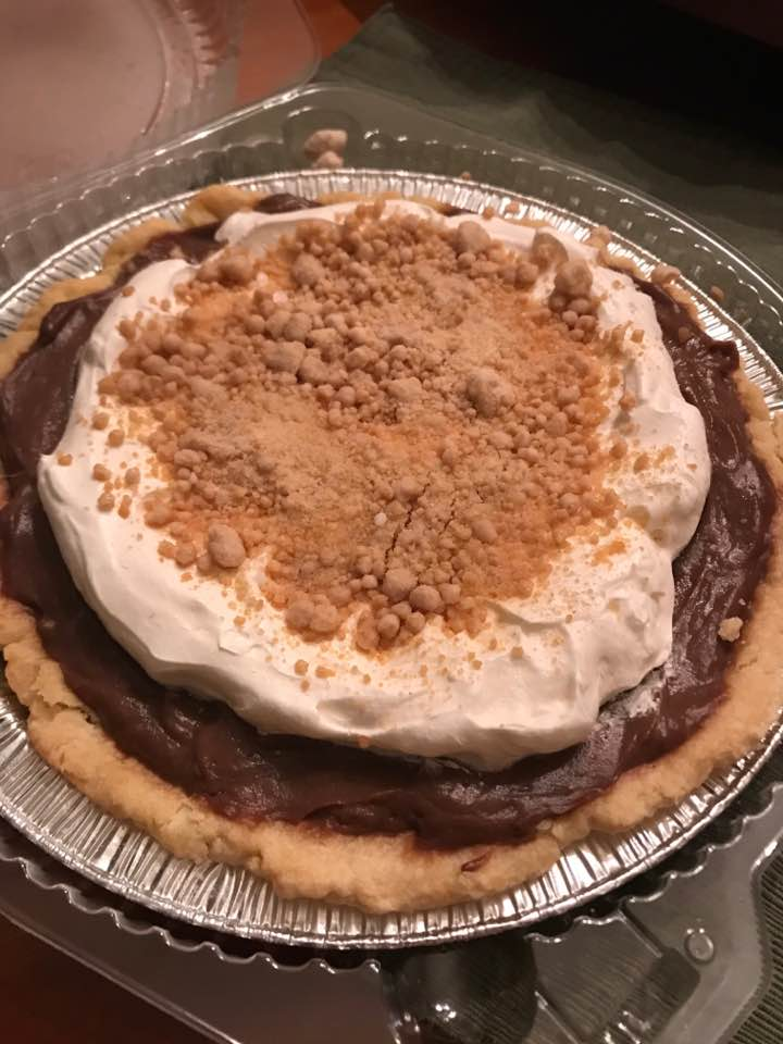 Wow:  CHOCOLATE Peanut Butter Pie
