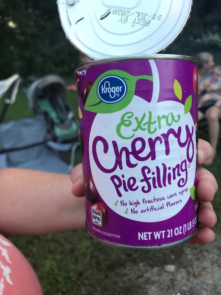 3-Ingredient Cherry Dump Cake