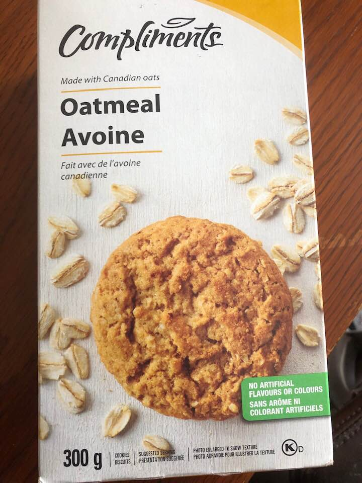 Sobey's Oatmeal Cookies