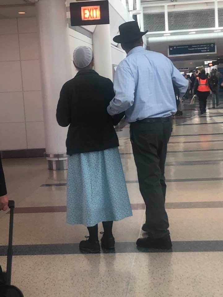 Plain on the Plane – Do the Amish Travel By Airplane?