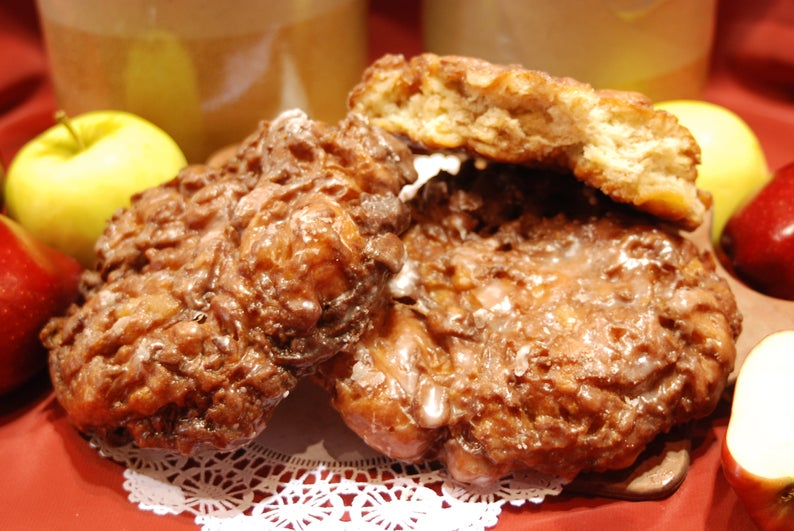 Amish Etsy: Amish Door Cherry Fritters, Mennonites or Nuns? Amish Treats, and Much More!
