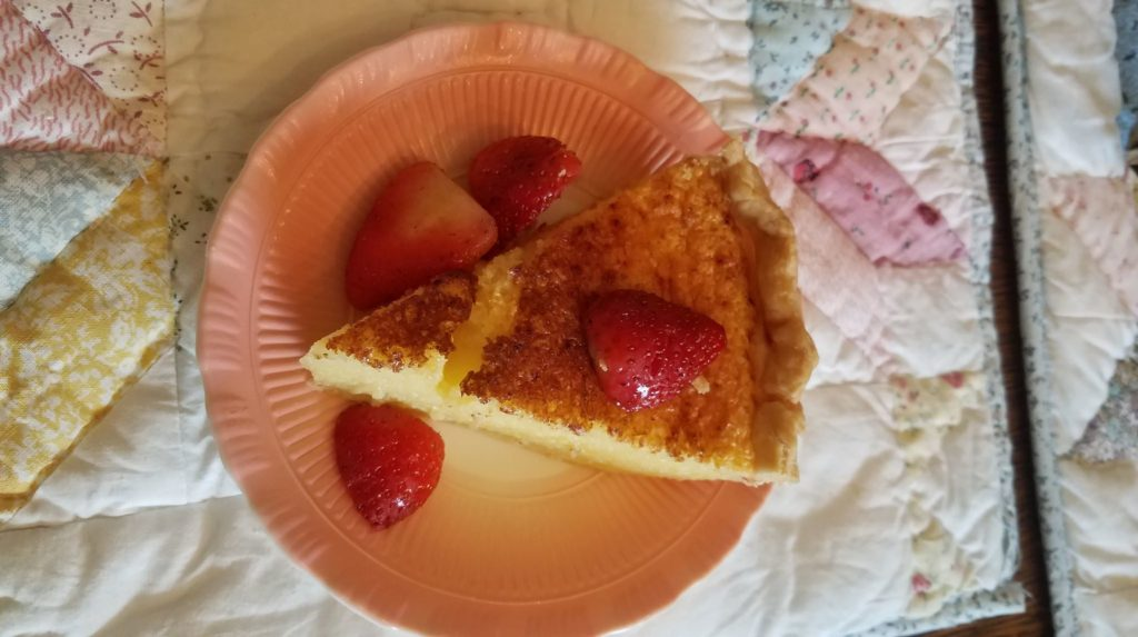 Carmon's Comfort Food:  Easy Buttermilk Pie