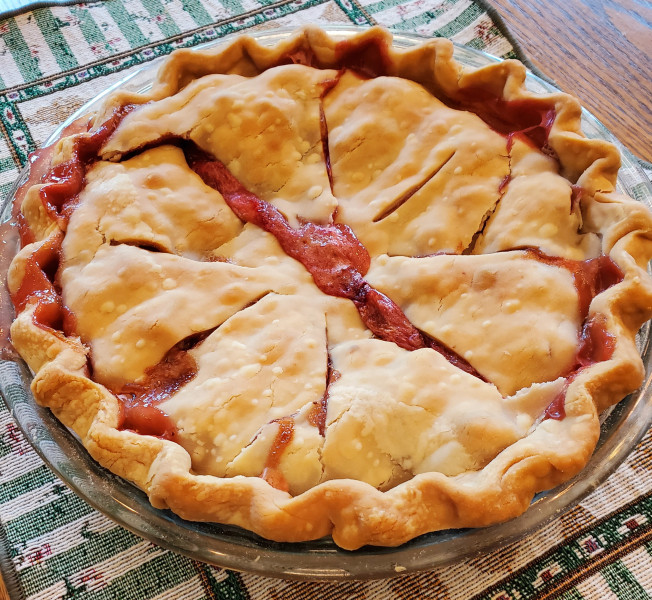 Weekly Blogroll:  Amish Painting Progresses, Summer Strawberry-Rhubarb Pie, Refreshing Cucumber Salad, and More!