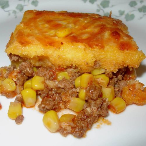 Amish Style Hamburger Corn Casserole