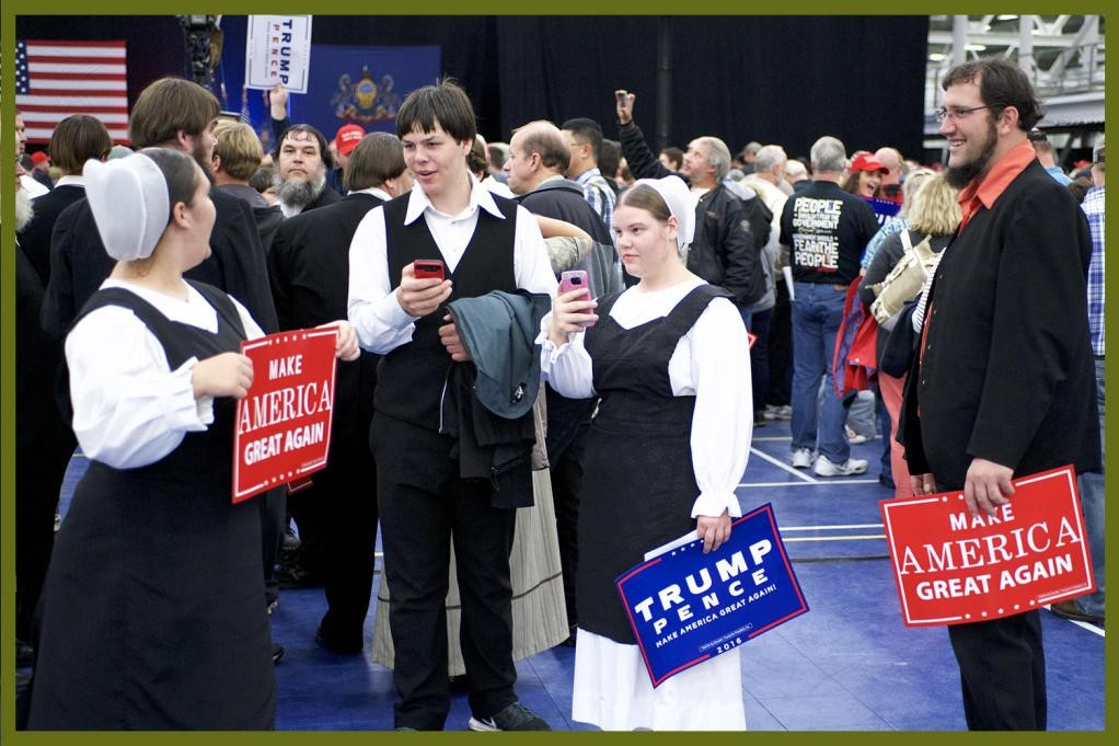 Will The Amish Vote for Trump?