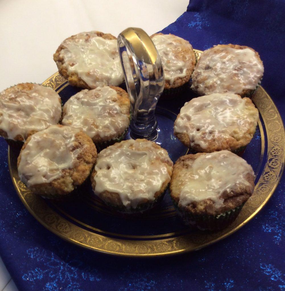 Amish Cinnamon Roll Muffins