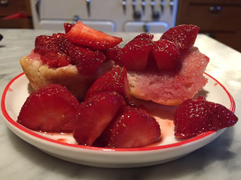 Random Recipe Easy Strawberry Shortcake Amish 365 Amish